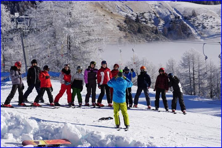 Ancelle école de ski