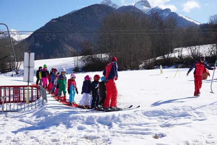 Ecole de ski ancelle