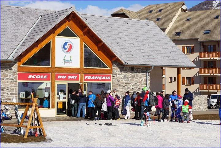 Ecole de ski d'Ancelle