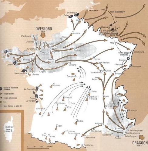Jonction des armées 1944