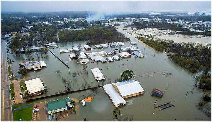 Inondation Gueydan