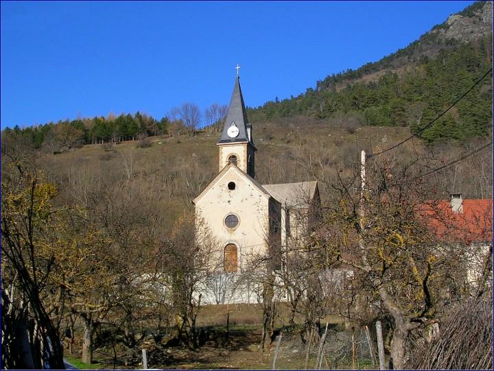 Eglise la motte en Champsaur