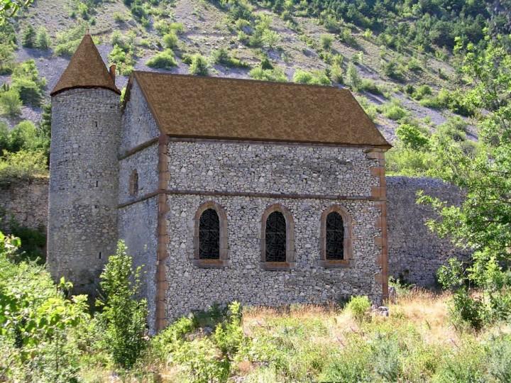 Chapelle château Lesdiguières - Copie