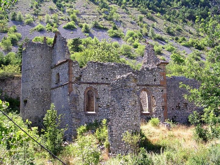 Chapelle du chateau de Lesdiguières