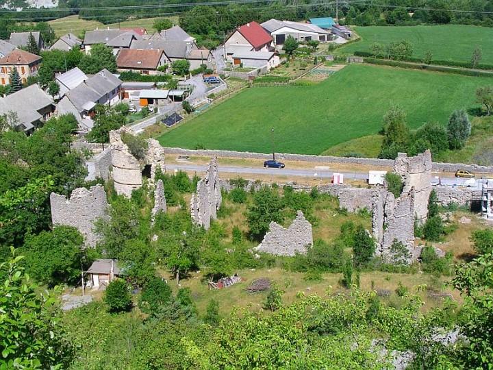 Chateau de lesdiguières au Glaizil