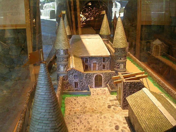 Maquette chateau