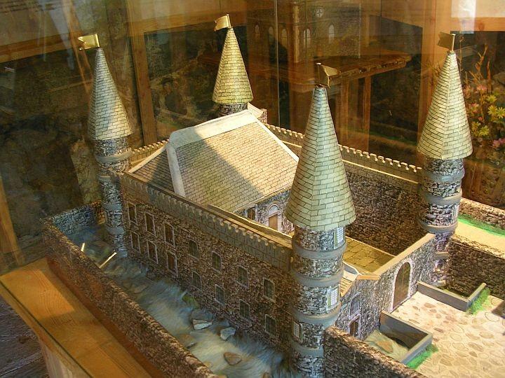 Maquette du chateau