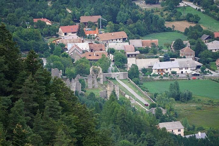 Ruines chateau lesdiguières