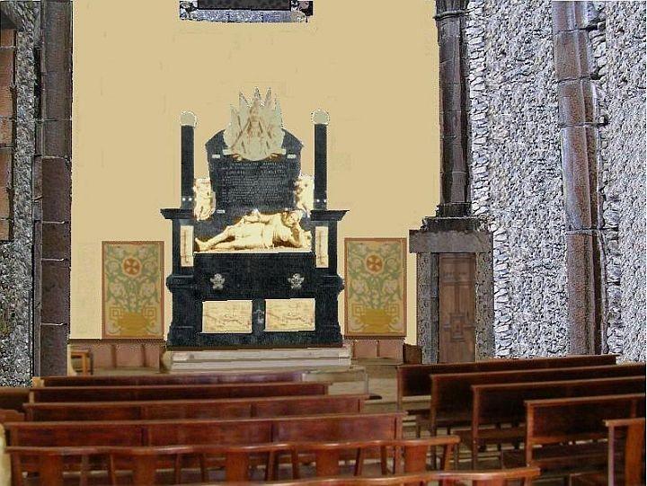 chapelle chateau de Lesdiguières