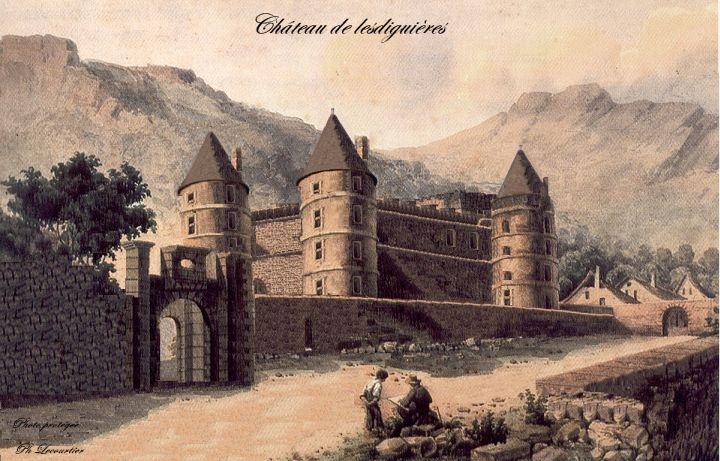 Chateau de Lesdiguières