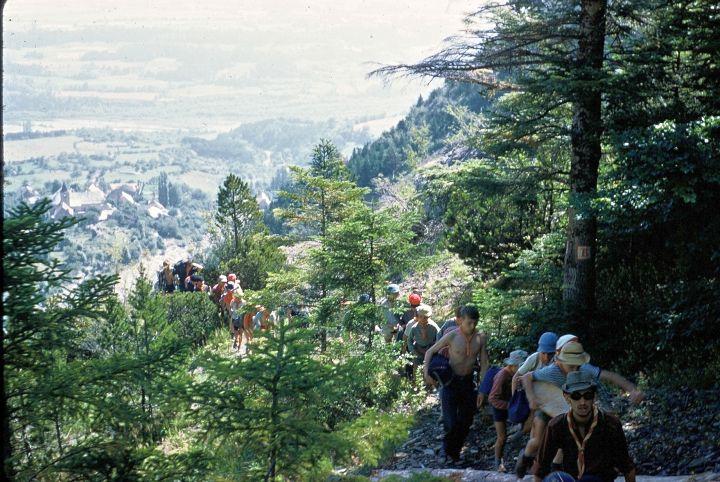 Montée du Pic du Glaizil