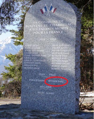 Monuments aux morts champsaur