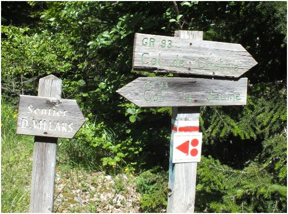 sentier du Champsaur