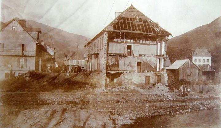 Pont-du-Fossé inondation