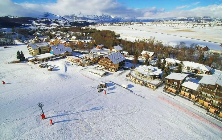station ski Ancelle