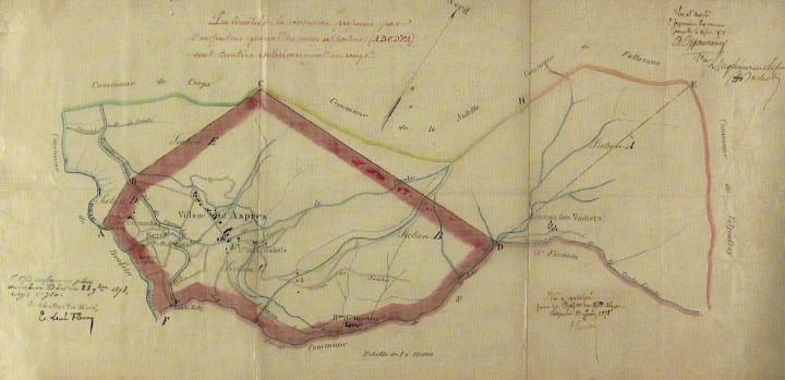 Mine de charbon Aspres les Corps