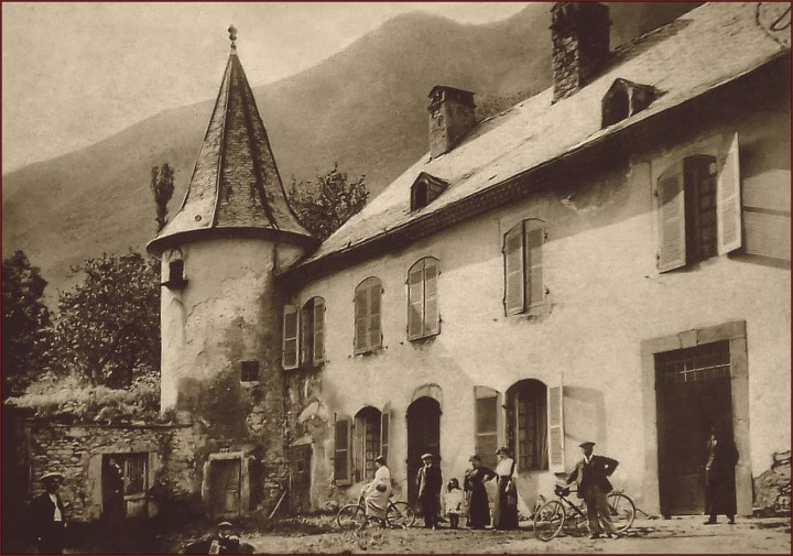 photo ancienne chateau d'Aspres