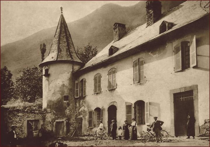 photo ancienne chateau d'Aspres