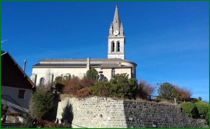 eglise de St Julien Champsaur